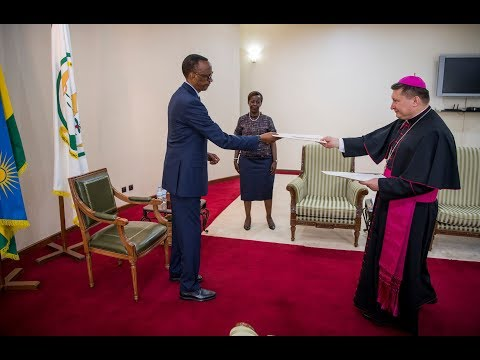 PRESIDENT KAGAME RECEIVES LETTERS OF CREDENCE FROM NEW ENVOYS