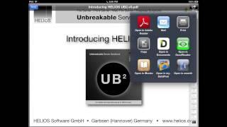 HELIOS iPad Document Hub 1.0