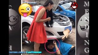 Video FUNNY PRANK 2017 | Try Not To Laugh or Grin - Gone Wrong Prank Compilation Challenge  #NEW FUNNY download MP3, 3GP, MP4, WEBM, AVI, FLV Oktober 2017