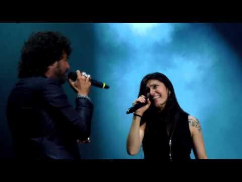 Elisa e Francesco Renga - Vivendo Adesso (Live Piazzola Sul Brenta - L'Anima Vola Tour 2014) HD