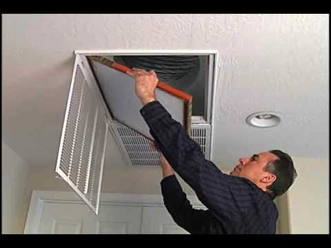 Changing Your Furnace Filter Youtube