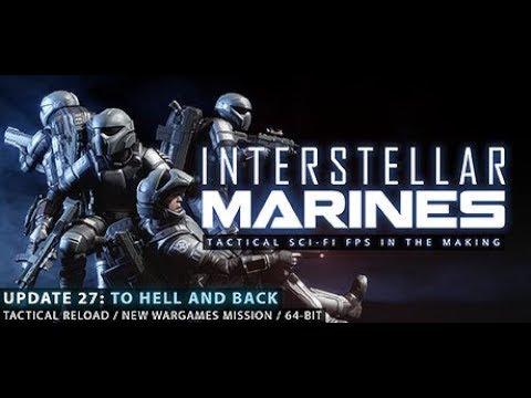 Lets Play Interstellar Marines GamePlay - Buzi sasszemű robotok szétgyaláznak