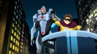 Justice League vs. Teen Titans thumbnail