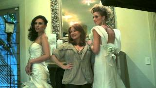 Bridal Fantasy Cover Shoot - Behind the Scenes