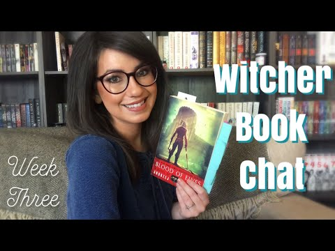 WITCHER BOOK CHAT | BLOOD OF ELVES | WEEK THREE