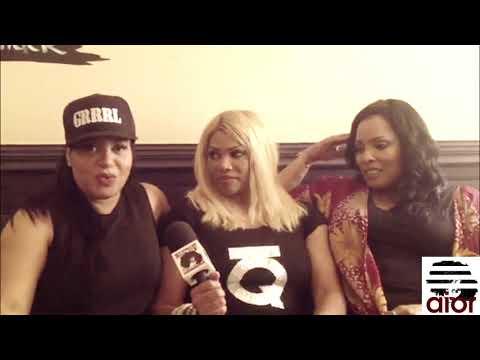 FIYA CHICK INTERVIEWS SALT N PEPA