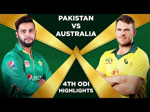 Pakistan Vs Australia 2019 | 4th ODI | Highlights | PCB