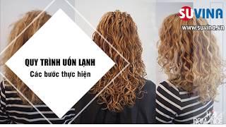 Các bước thực hiện Uốn Lạnh - Cách uốn tóc, học uốn tóc chuyên nghiệp - Quy trình uốn tóc-0983258655