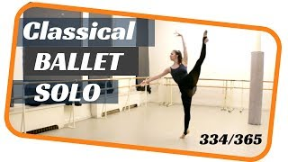 female ballet solo- dancing everyday 365 ballets-ballet 334