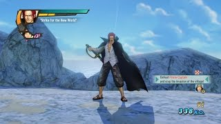 One Piece Pirate Warriors 3 Shanks Level 100 Gameplay