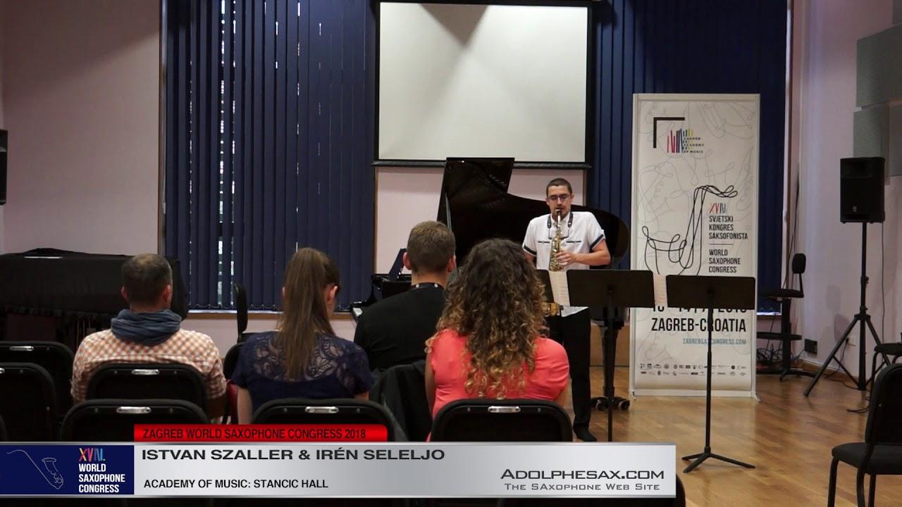 Rabescatura by Miklos Maros   Istvan Szaller & Iren Seleljo   XVIII World Sax Congress 2018 #adolphe
