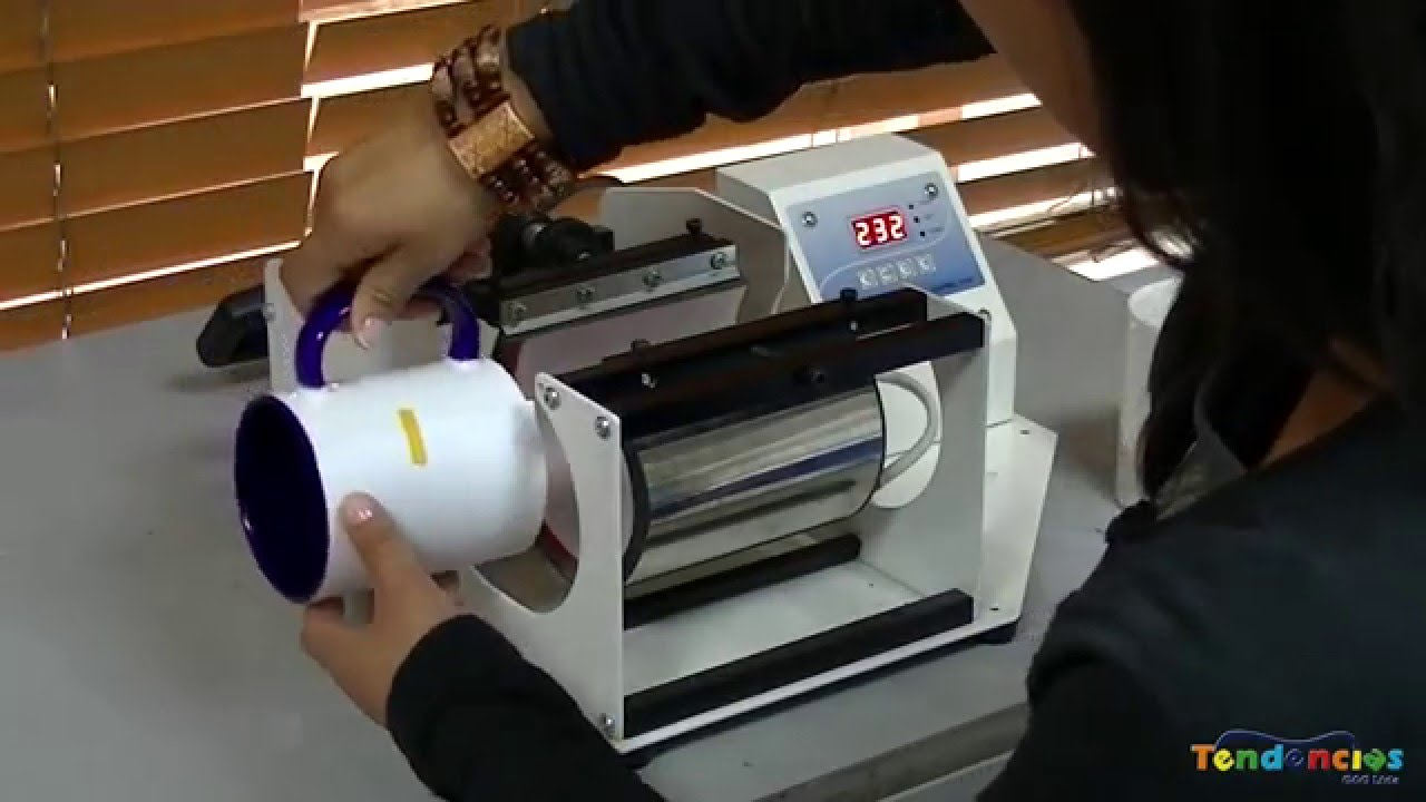 Cómo Sublimar Mugs o Pocillos en una Máquina de Mugs MM18 de TendenciasGyG bb9e5ed4626