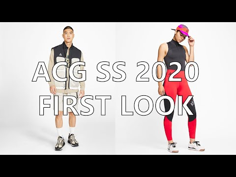 ACG SS 2020 Preview And Fan Fit Pics