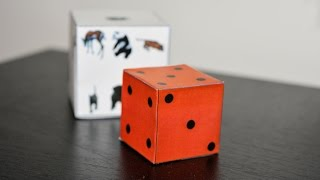 Comment faire un cube 3d en papier facile - Faire un cube en papier ...