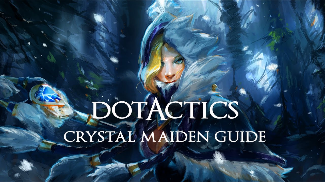 Crystal Maiden Dota 2 Immortals: Crystal Maiden Support Guide (6.80)