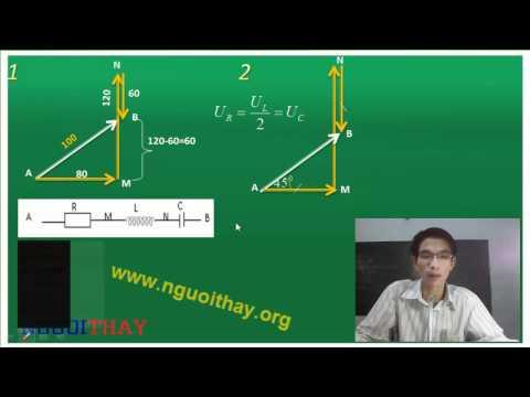 Vật Lý: dòng điện xoay chiều (phần 3)