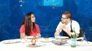 Underwater love of food and art at Ossiano | Kitchen Secrets by Atlantis, The Palm