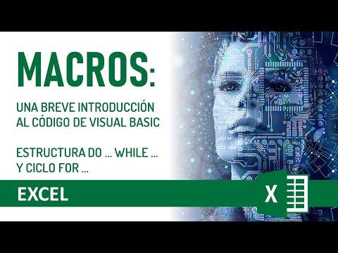 Excel programar macros