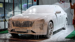셀프세차 8시간 하는 세차환자의 vlog