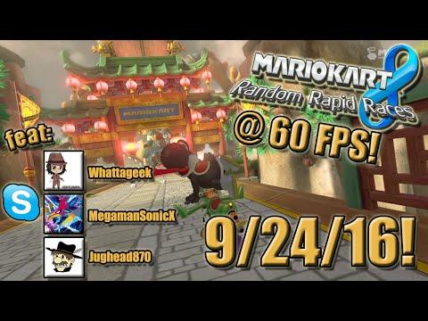 Mario Kart 8 - Random Rapid Races - 9/24/16!