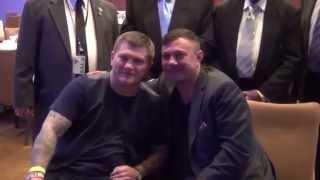 Kostya Tszyu and Ricky Hatton meet again