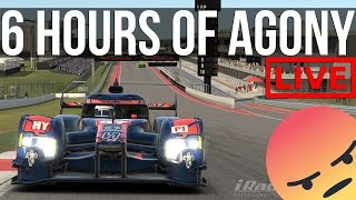 iRacing - 6 Hours Of Avoiding Disqualification | iELMS @ COTA