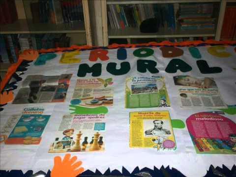 Sabaneta tv presenta elaboraci n del peri dico mural for Como decorar un mural
