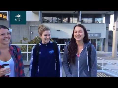 Students talk about Vancouver Island University (VIU)