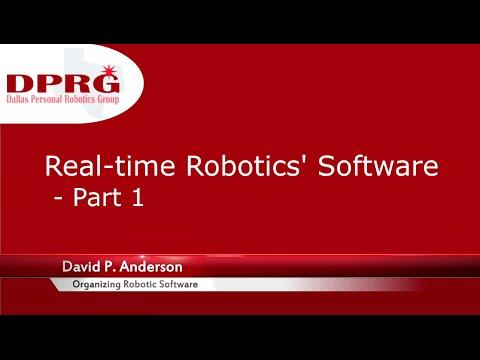 David Anderson on Robotics Software - part 1