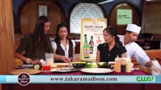 The Restaurant Show | Takaramadison.com | Takara Japanese Restaurant | 608-270-1188 | 07/29/14