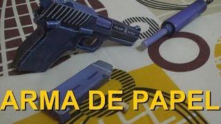 Arma de papel - Papercraft (PM-NSP) by: hoborginc  PT-Br