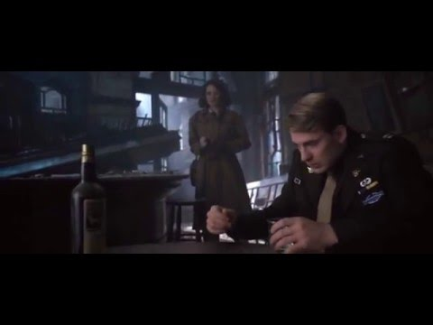 First Avenger Steve&Peggy Scene