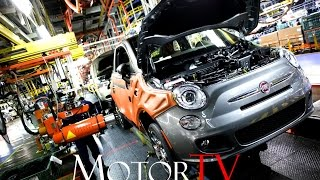 CAR FACTORY : 2017 FIAT 500 PRODUCTION l  Toluca Assembly Plant (Mexico)