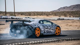 DRIFTING A $350,000 LAMBORGHINI IS SCARY!
