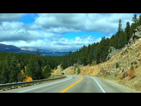 Colorado COUNTRYSIDE Fall season Autumn Foliage Forests and Mountains