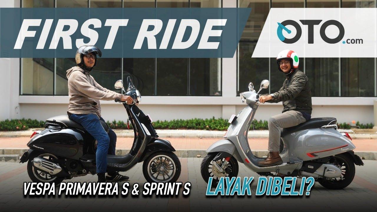 Vespa Primavera S & Sprint S 2019 First Ride Tambah Mahal Tambah Bagus