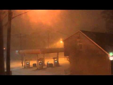 Blizzard Juno in Swampscott, Massachusetts