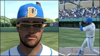 mlb 14 the show road to the show ps4 bridges bat hits someone in crowd hitting for the cycle