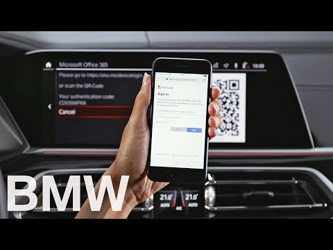 Connect your Microsoft Office 365 account in your BMW with Operating System 7 – BMW How-To