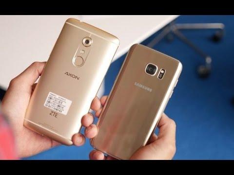 ZTE Axon 7 Vs Samsung Galaxy S7 Edge Comparison