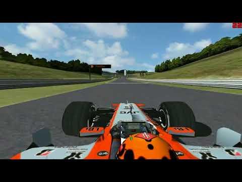 F1 Challenge 2006 RLSF    Hotlap At Great Britain    Crhristian Albers (Midland F1 Orange Livery)