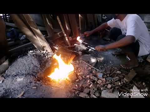 Tutorial Pembuatan Tatah Kulit / Tatah Wayang, Bagian Pertama Persiapan Bahan,,