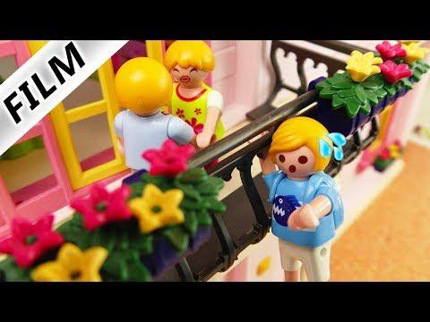 Playmobil Film Deutsch MAMAS 1. FESTER FREUND IN DER JUGEND! PAPA KLETTERT AUF BALKON! Familie Vogel