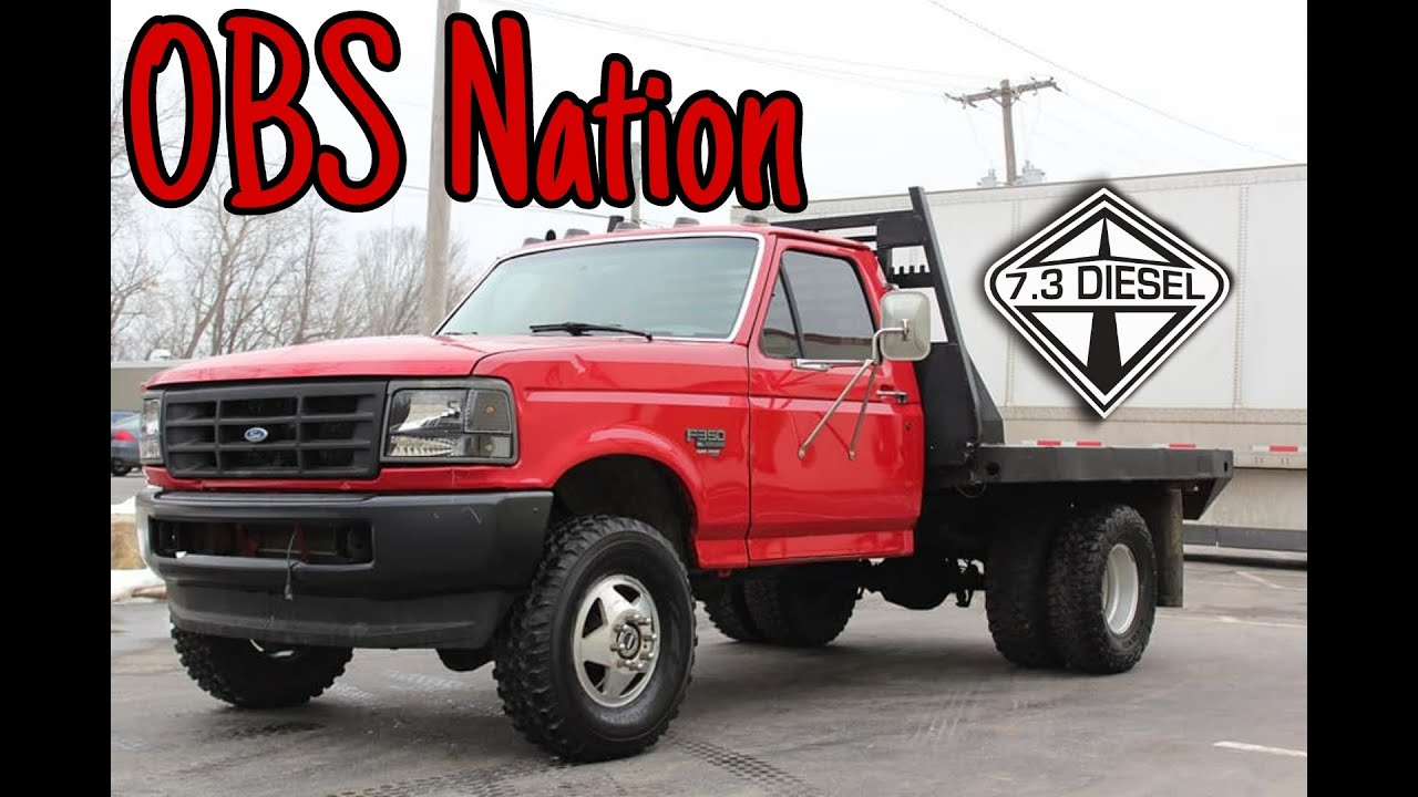1997 Ford F350 Xl 7 3 Powerstroke Cab And Chassis 1 Ton Dually Flat Bed Sold