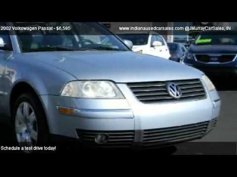 2002 Volkswagen Passat Gls 4motion 4 Wheel Drive