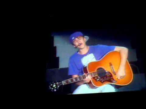 Justin Bieber-Common Denominator   My World Tour In Taiwan 15,05,11