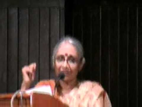 Aruna Roy, the activist and social worker of India speaks on Right to Information