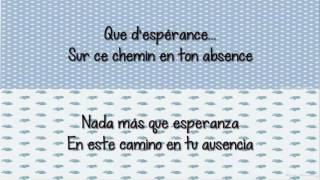 Indila  -  Dernière Danse CON LETRA Español/Frances Video