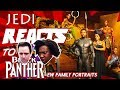 "JEDI REACTS!: ""Black Panther"" EW Family Portraits 🌍"