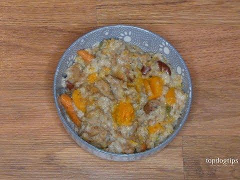 Squash Mash Homemade Dog Food For Allergic Dogs Recipe